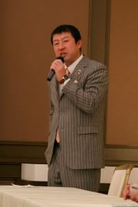 沼田YEG小林誉史会長よりご挨拶を頂戴しました。