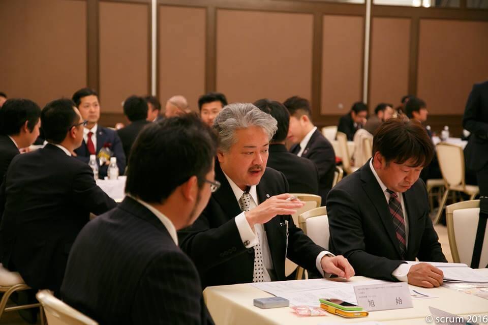 研修チーム。旭始委員(川口YEG)